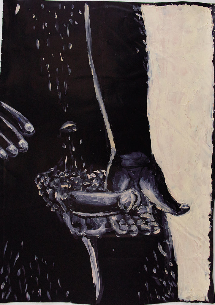 "Jane Dickson, ""HHWL 2 - Black Fondle"""