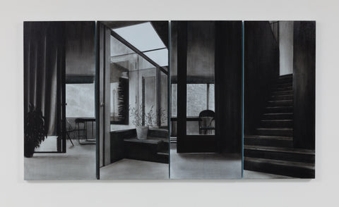 "Rebecca Chamberlain, ""Neutra Arrangement Screen"""