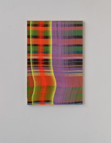 "Sarah Wertzberger, ""Aura Plaid"""