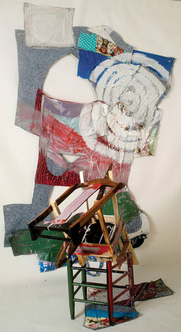 "Alan Neider, ""Chair and Blanket 2"""