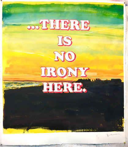 "David Kramer, ""No Irony"""