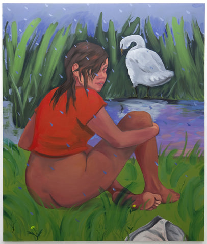 "Haley Josephs, ""Wet Pond Swim"""