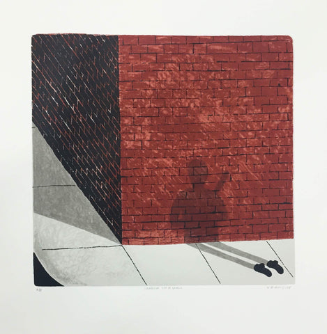 "Kenny Rivero, ""Shadow On A Wall"""