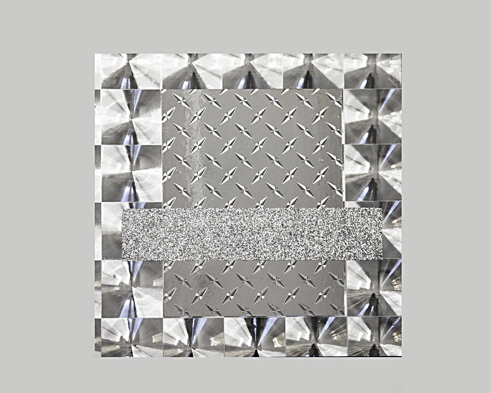 "Jo Karlins, ""Homage to the Metallic Square"""