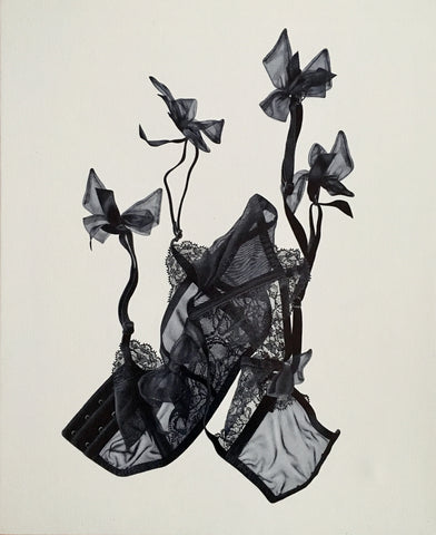 "Dara Vandor, ""Garter with Bows"""