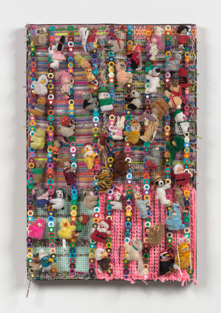 "Kelly McCafferty, ""crochet hugger"""
