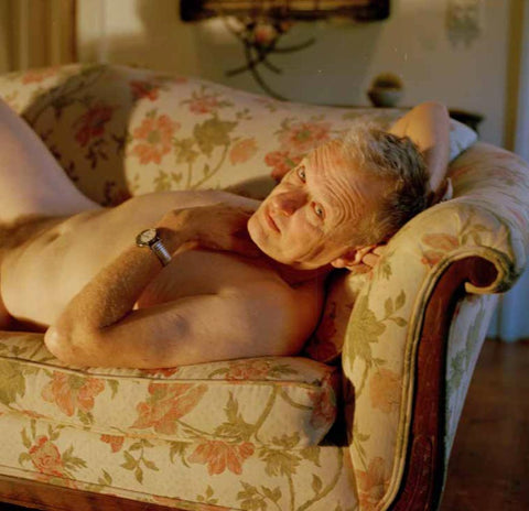 "Matthew Morrocco, ""Portrait of Hooper on the Couch"""