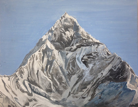 "Rudy Shepherd, ""Mount Machapuchare"""