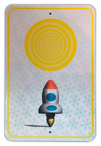 "Anne Spalter, ""Rocket to the Sun"""