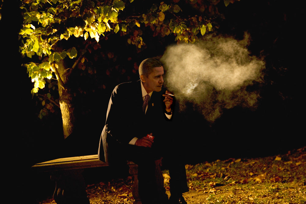 "Alison Jackson, ""Obama Smoking"""