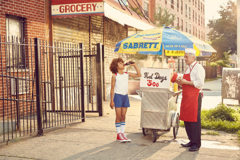 "Justin Bettman, ""The Hot Dog Cart"""