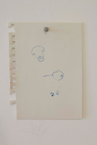 "Shelby David Meier, ""Sketchbook Page (Pictionary)"""