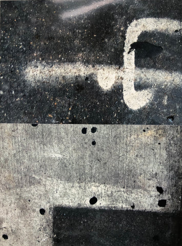 "Pat Place, ""Untitled (Street Markings) (#9)"""