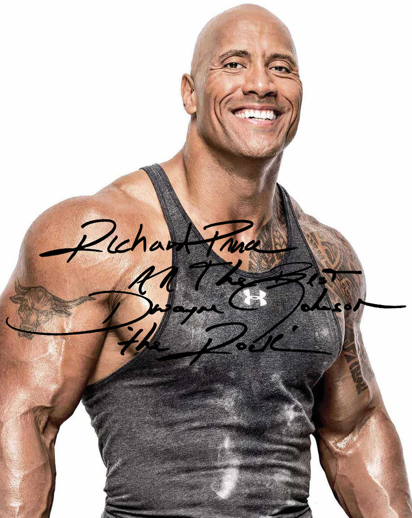 """Richard Prince"" (Jonathan Paul), ""All The More Best - Dwayne 'The Rock' Johnson"""
