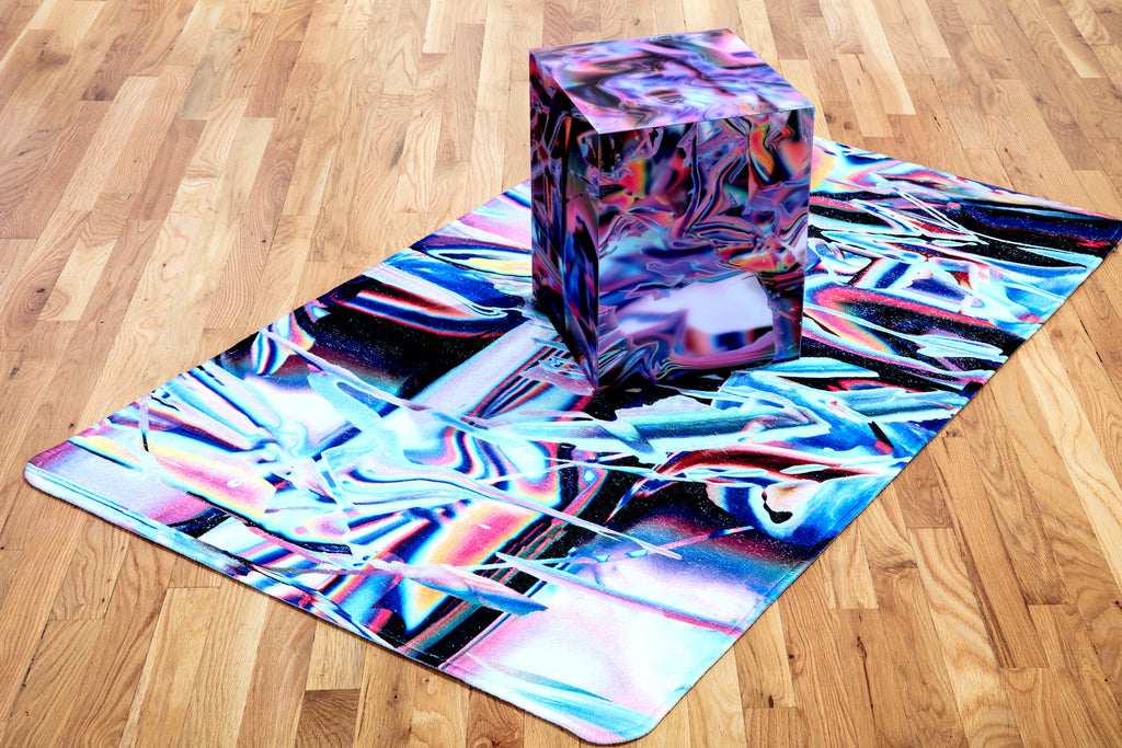 "Anne Vieux, ""Infinity Cube II"""