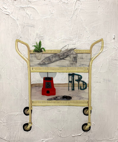 "Ho Jae Kim, ""Bar Trolley"""