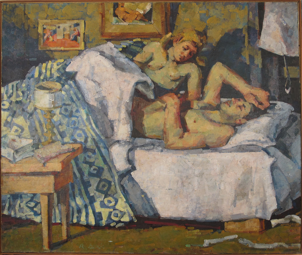 "Rosemarie Beck, ""Two in a Room"""