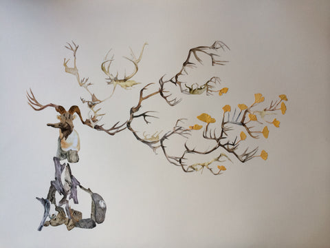"Misako Inaoka, ""Branching"" SOLD"