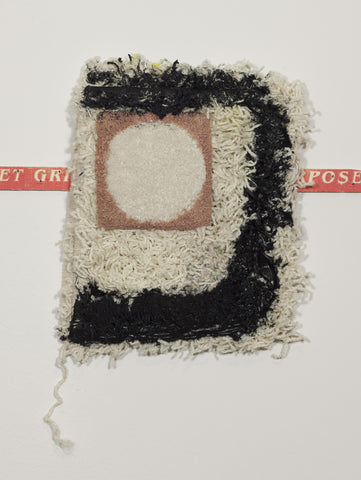 "Courtney Childress, ""Untitled (Black Caulk)"""