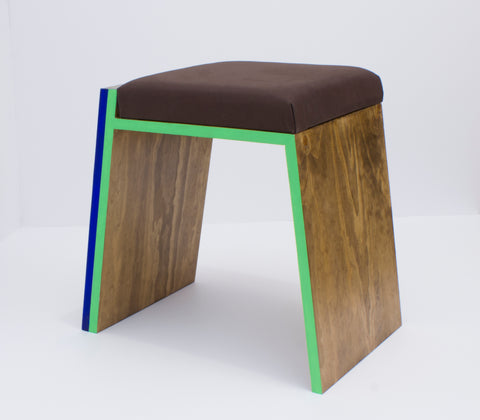 "Til Will + Debbi Kenote + Drew Miller, ""Offset Stool"""