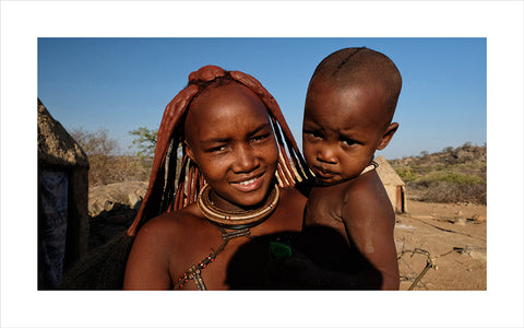 "Lino Meoli, ""Himba Woman and Child"""
