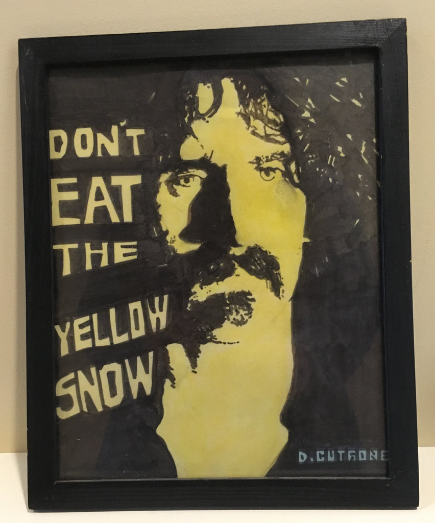 "Dave Cutrone, ""Don't Eat the Yellow Snow"""
