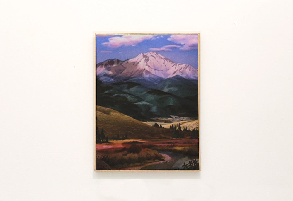 "Connor Crawford, ""Untitled Background Mountainscape"""