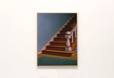 "Connor Crawford, ""Untitled Background Staircase"""