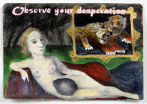 "Cheryl Bentley, ""Observe Your Desperation"""