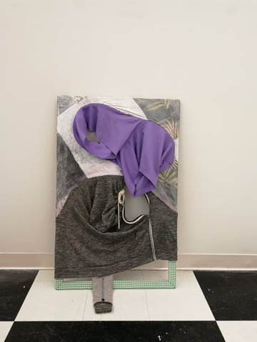 "Shihui Zhou, ""Purple Shorts"""
