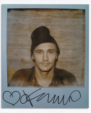 "Henny Garfunkel, ""James Franco/ ""One Last Shot""- Signed polariod series"""