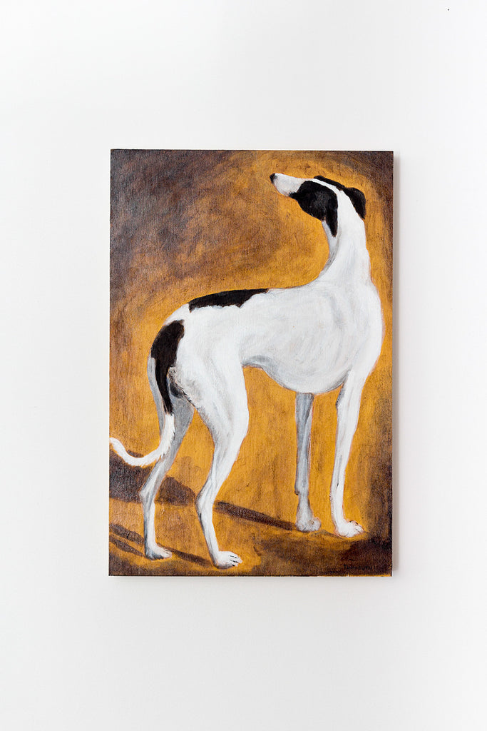 "Brad Tinmouth, ""Study of a Greyhound (After Agasse)"""