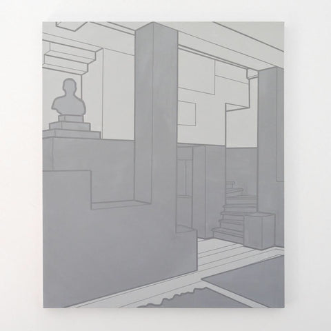 "Heath West, ""Villa Müller in Grey"""