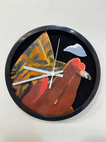 "James Williams, ""CP Time (Clock Painting)"""
