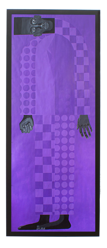 "Jon Key, ""Man in the Violet Suit No. 1 (Violet)"" SOLD"