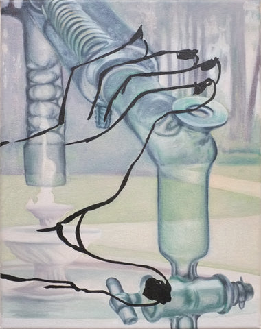"Margaux Valengin, ""Distillation Take-Off"" SOLD"