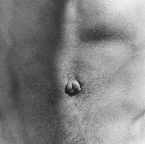 "Robert Mapplethorpe, ""Belly Button"""
