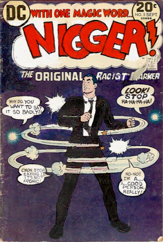"Kumasi Barnett, ""Nigger 5 - Black Suit"" SOLD"