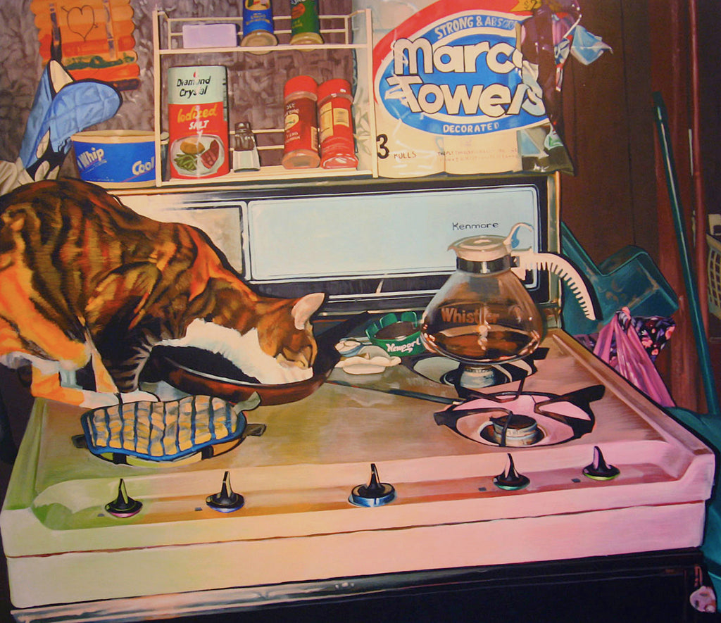 "Debra Zechowski, ""Princess on the Stove"""