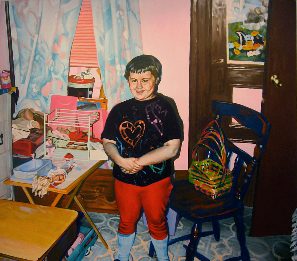 "Debra Zechowski, ""Self Portrait with Barbie"""