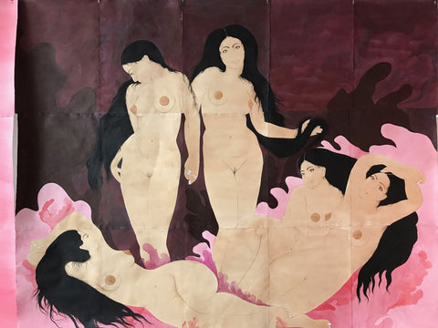 "Hiba Schahbaz, ""Women's Room"""
