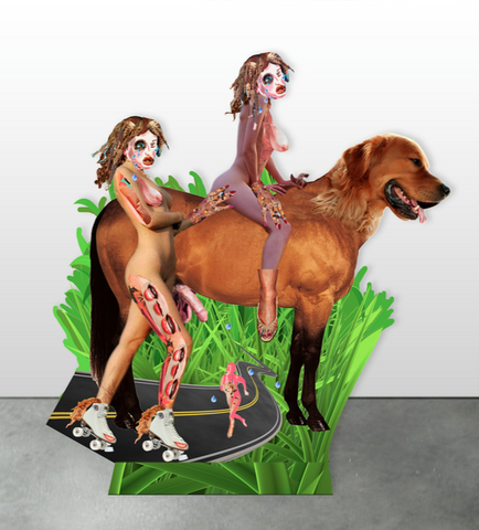 "Allison Zuckerman, ""Dog Walkers"""