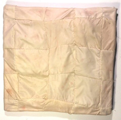 "Danny Coeyman, ""Self Portrait (Pillow Case 1)"""