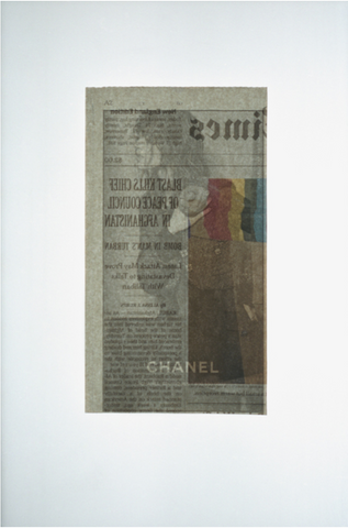 "Christopher Thomas Ford, ""Untitled (Chanel Blast)"""