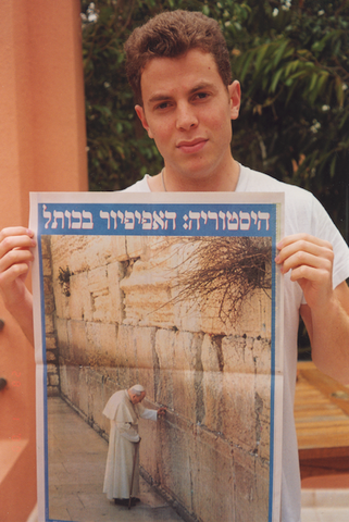 "Shony Rivnay, ""The Pope at The Western Wall, Yediot, 2000"""