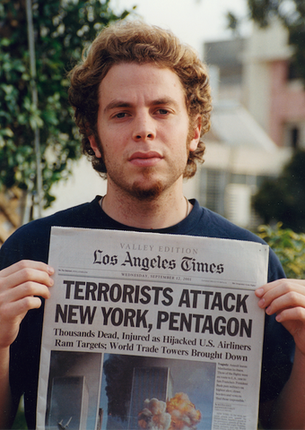 "Shony Rivnay, ""Terrorists Attack New York, Pentagon, Los Angeles Times, 2001"""