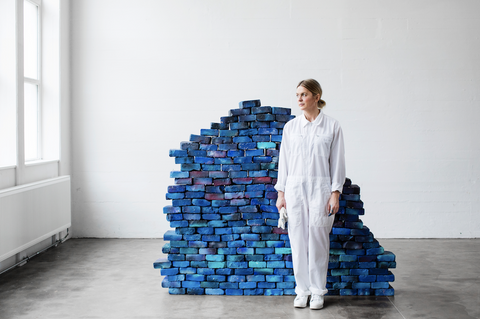 "Anne Nowak, ""The Cosmic Wall (installation)"""