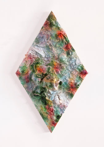 "Anna Breininger + Kristin Cammermeyer, ""Refuse Aggregate in Diffused Floral (Small Diamond)"""