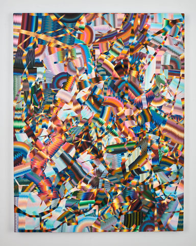"Clinton King, ""Spectral Mass"" SOLD"