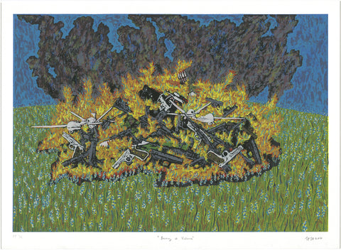 "Haley Hughes, ""Burning of Violence"""